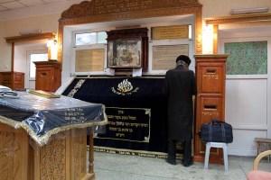 Das Grab des Rabbi Nachman mit angeschlossener Synagoge (Innenansicht)