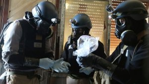 Mutmasslicher C-Waffen-Einsatz in Syrien