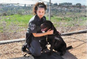 Shahaf Karavny mit Hund