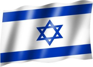 Staatsflagge Israels