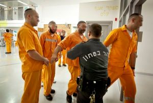 Häftlinge im Ela-Gefängnis bei Beersheva