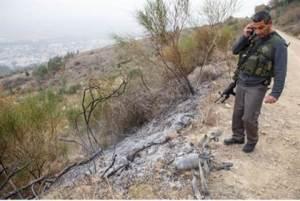 Katyusha rocket remains fired from Gaza