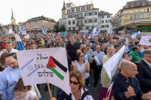 SCHWEIZ PRO ISRAEL DEMONSTARTION