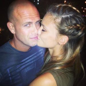 Bar Refaeli mit Freund Adi Ezra auf einem Instagram-Foto.