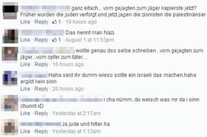 «Wir haben einen Punkt erreicht, wo die Behörden aktiv werden müssen»: Äusserungen auf Facebook. Bild: Screenshot Facebook