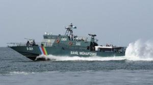 Shaldag Mk V Patrouillenboot, eines von sechs für Küstenwache Aserbaidschans. Quelle: Büro des Präsidenten Aserbaidschan