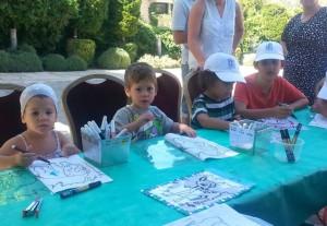 Der kleine Daniel wenige Wochen vor seinem Tod, fotografiert bei einem Sommer-Event des Präsidialamtes am 7. August 2014 in Jerusalem für Kinder aus der vom Gaza-Krieg betroffenen Region. Photo: Mit freundlicher Genehmigung des israelischen Präsidialamtes.