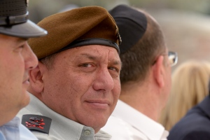Major-General Gadi Eizenkot and current Deputy Chief of Staff
