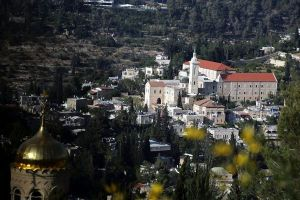 View of the Ein Karem area in Jerusalem on May 25, 2015. Photo by Yossi Zamir/Flash90
