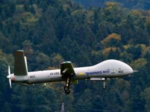 Die-israelische-Drohne-des-Typs-Hermes-900-soll-als-Ersatz-fuer-das-heute-benutzte-System-aus-dem-Jahr-1995-dienen-Archivbild-