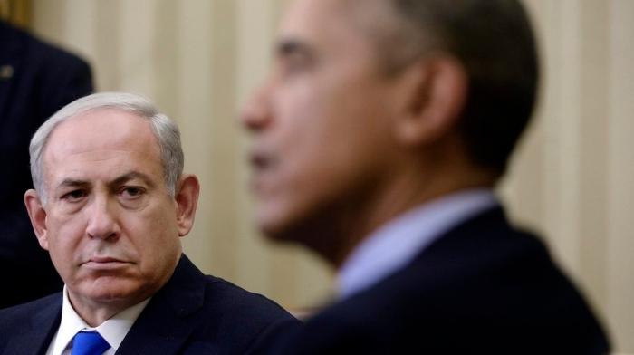 US President Barack Obama meets with Israeli Prime Minister Benjamin Netanyahu -DC