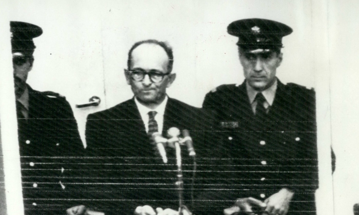Apr 04 1961 Picture by Wire Opening of the Adolf Eichmann trial in Jerusalem The trial opene