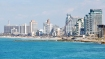 The Tel Aviv coastline