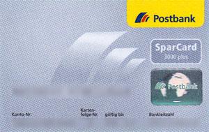 Postbank-Sparcard-3000-300