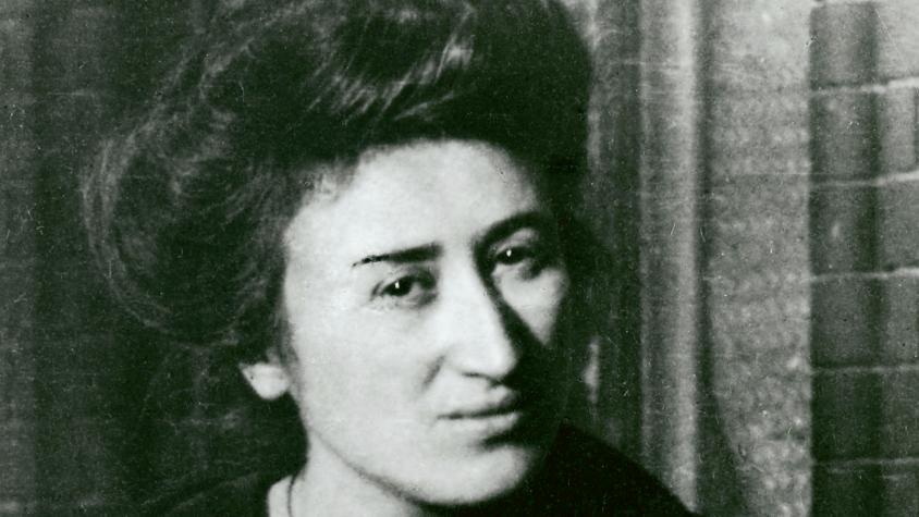 Vorkämpferin Der Arbeiterbewegung Blumen Für Rosa Luxemburg Jns